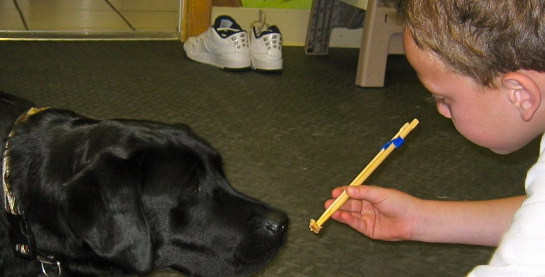Furry Family Friend Helps with Therapy