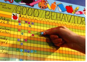 sticker chart for behavior