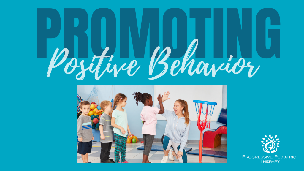 promoting positive behavior with high fives