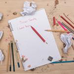 Child written sample of letter