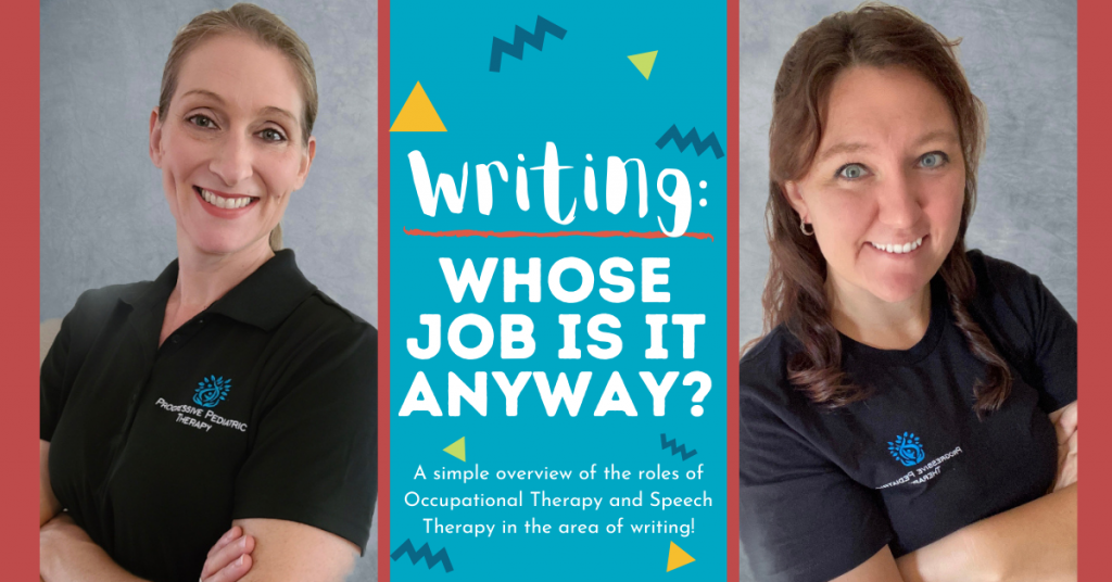 Writing: Whose job is it anyway?
