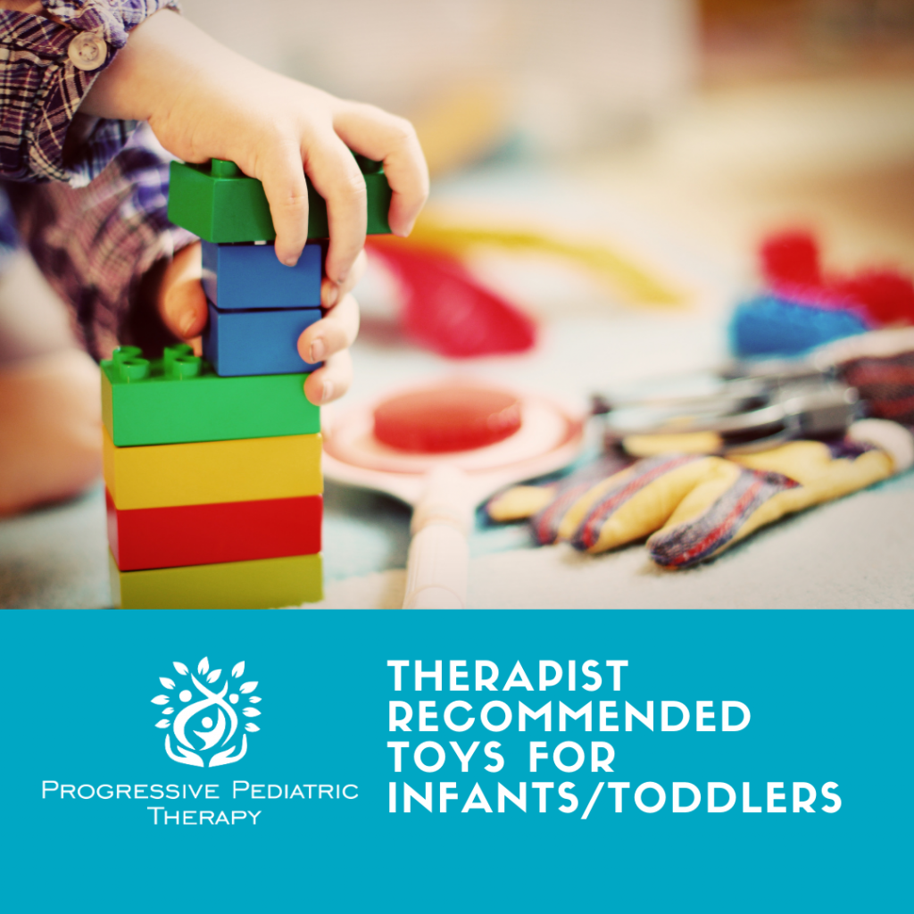Toy recommendations for infants/toddlers