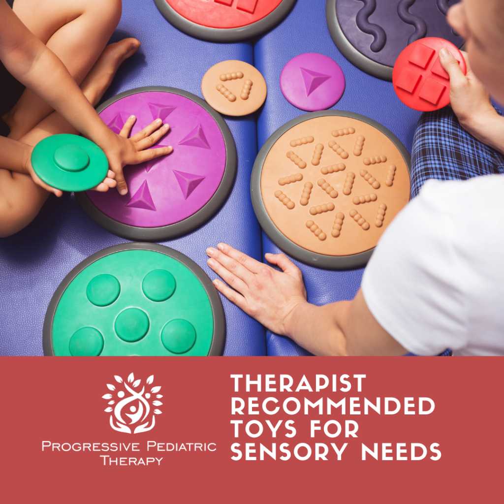 Children playing with Sensory Toy