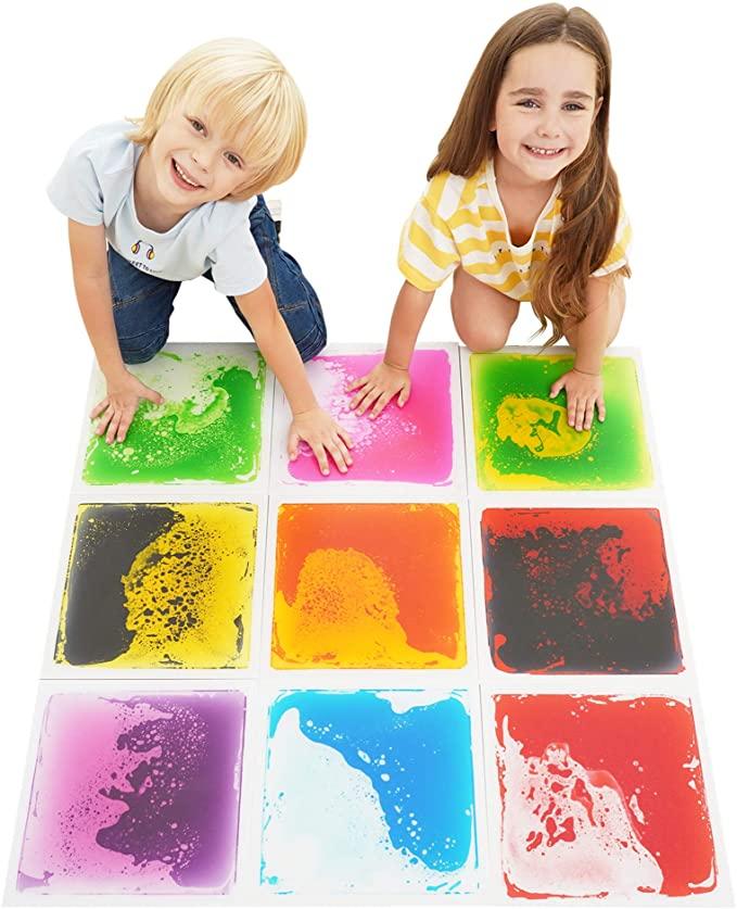 Liquid Floor Tiles Sensory Toy