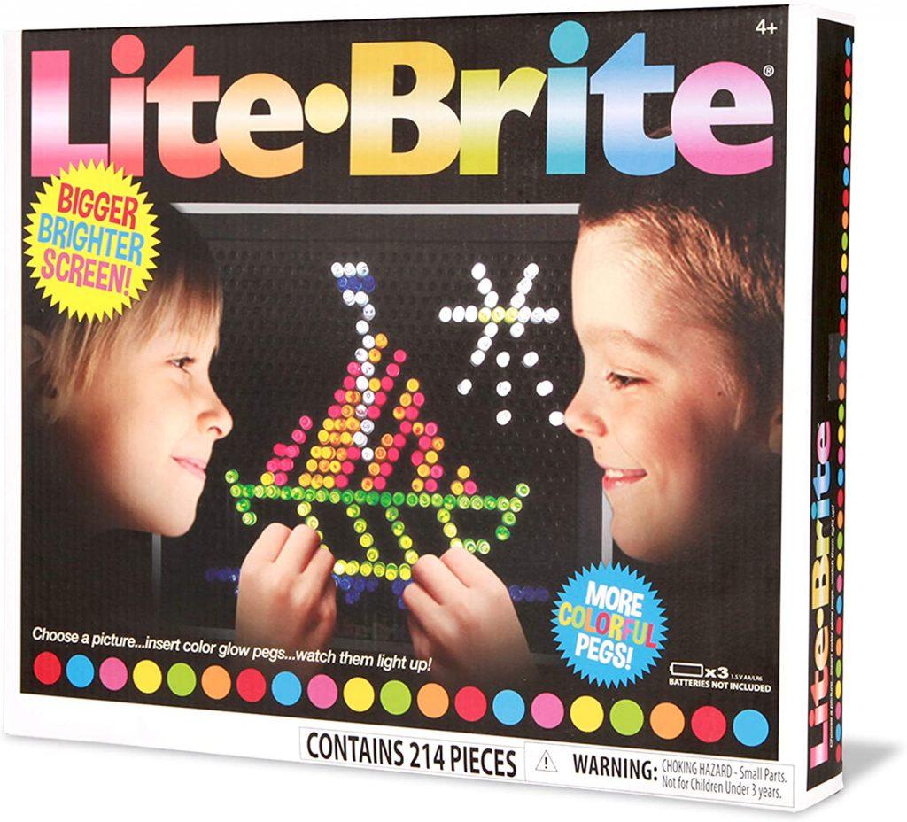 Picture of Lite Brite box