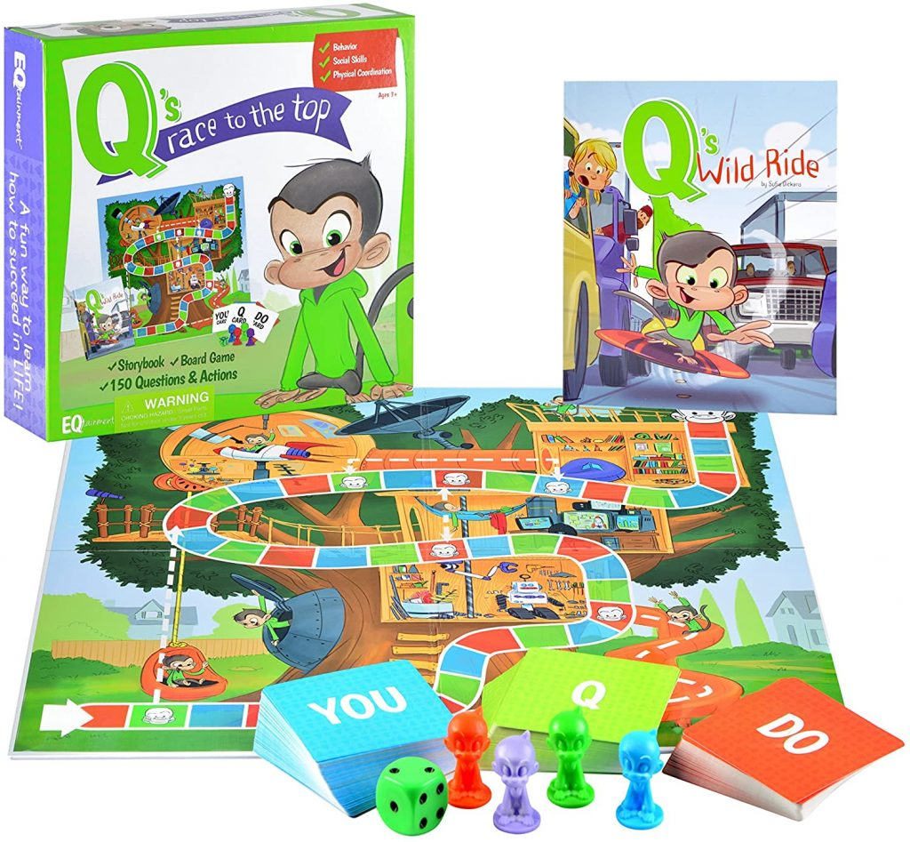 Picture of the Board Game Q's Race to the Top
