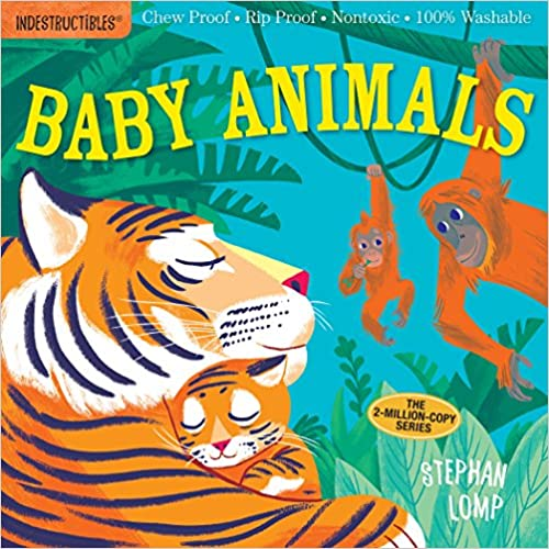 Picture of Indestructibles Book titled Baby Animals