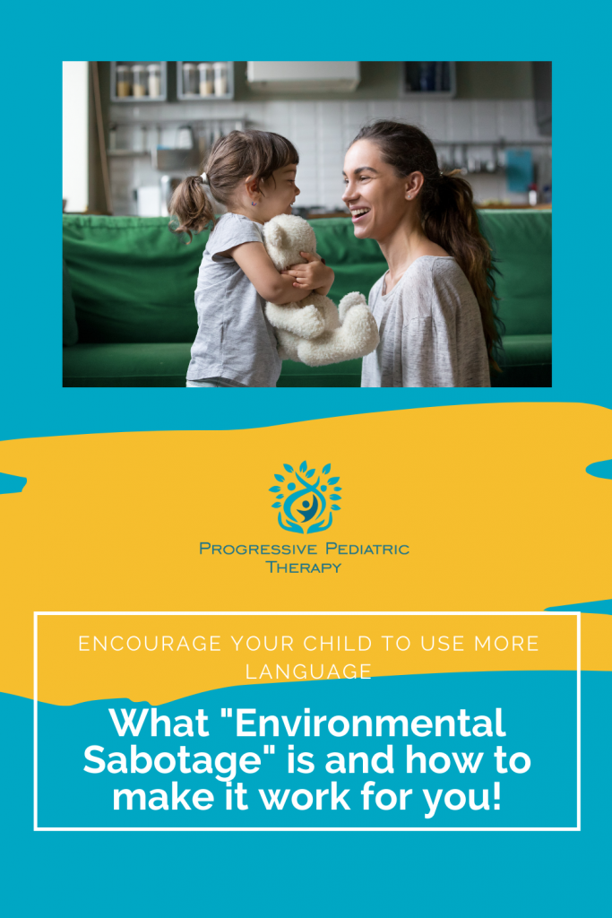 Graphic with title What Environmental sabotage is and how to make it work for you.