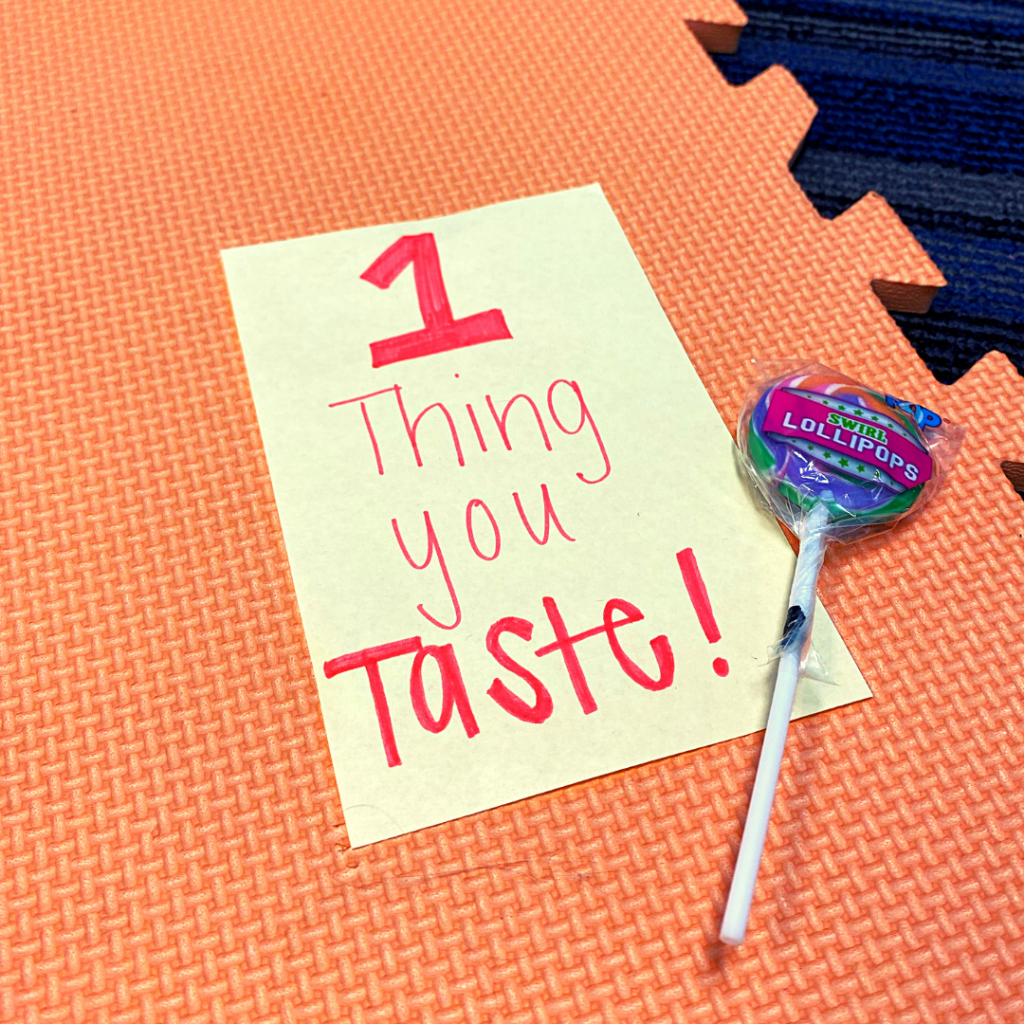 1 thing you taste graphic